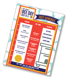 Schedule image for 2021 Arkansas Bee Day